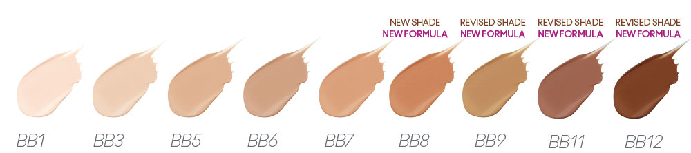 Jane Iredale GlowTime BB Cream Shades