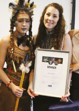 Looks a Winner: Student Make-Up Competition