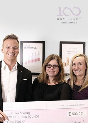 Q&A with our #100DayReset winning salon and client.